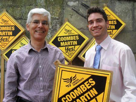 Cllr Nicholas Coombes and Cllr David Martin